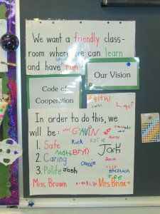 Our First Grade Vision | Ms. Abell's Class