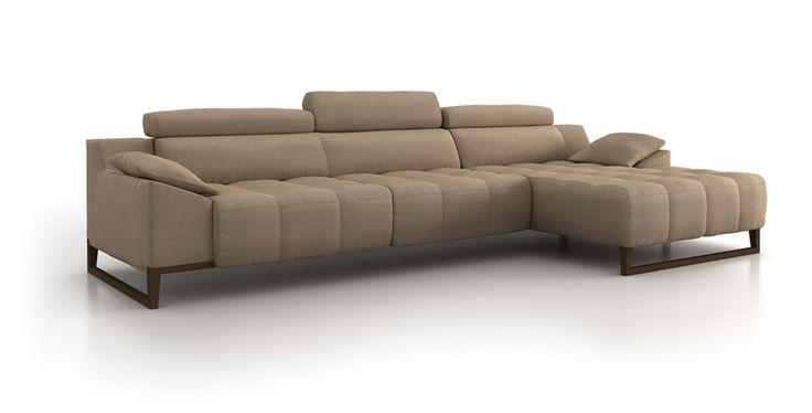 sofá de diseño con patas