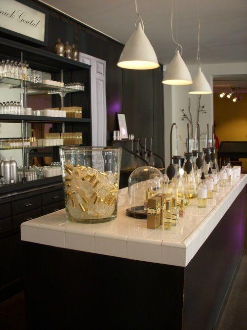 Annick Goutal perfume bar.