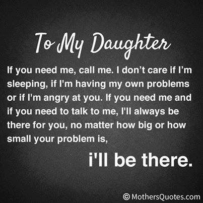 I mean it. For Danielle and Ariella
