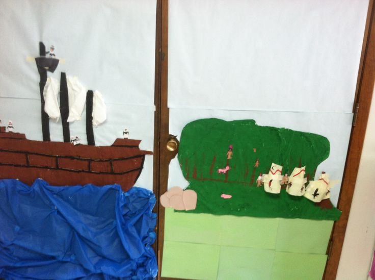 our Mayflower scene so far