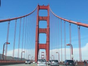 Golden Gate Bridge, San Francisco, California Read about how to get a Super Cheap Rental Car!