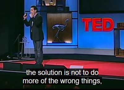 Sweeter carrot or sharper stick? Dan Pink's epic Ted-talk about MOTIVATION! :-O #Motivation #business #Productivity http://www.ted.com/talks/dan_pink_on_motivation