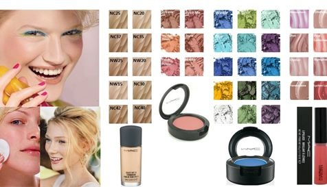 Make-up tips for summer-type skin