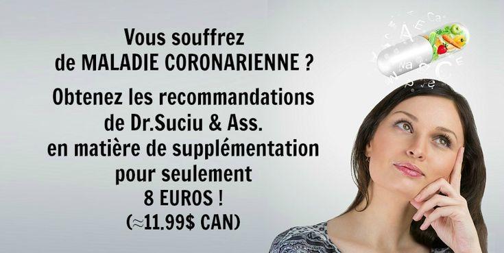 Photo recommandations drsuciu - maladie coronarienne