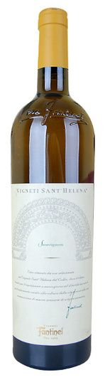 In stock - 18,45 € 2007 Fantinel Sant Helena Sauvignon, white dry , Italy - 87pt Wine with good structure of body and tones of yellow paprika, yellow melon and banana.