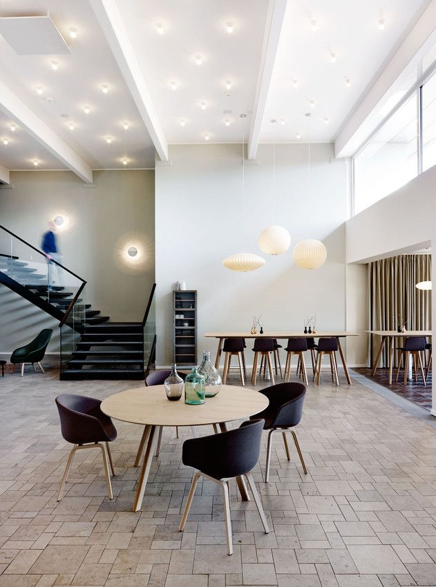 Foyeren på Comwell Køge Strand