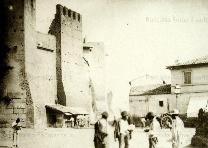 Porta San Lorenzo, facciata esterna Anno: 1890