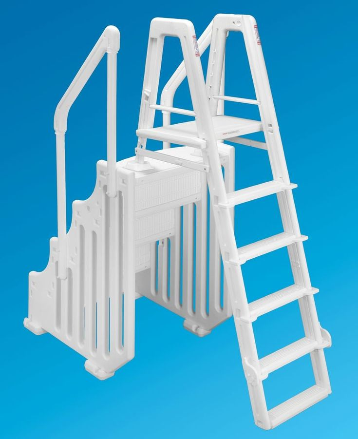 Details about ocean blue 38 mighty step ladder set