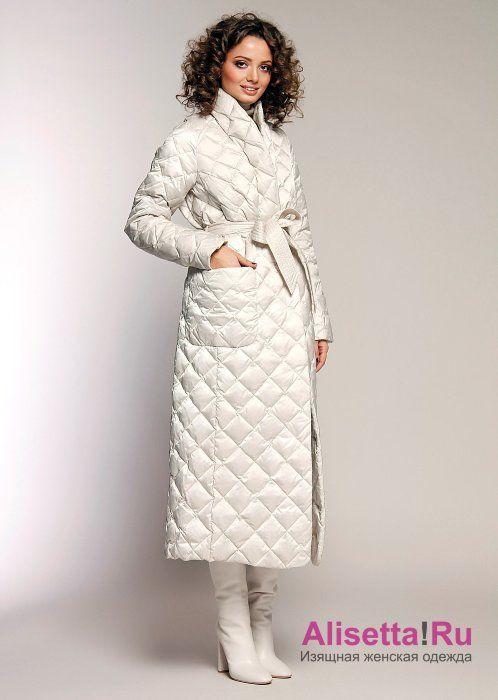 Купите модное женское пальто-пуховик Miss Naumi 18 W 103 00 31 Antique  white – Белый из коллекции NAUMI зима 2018-2019 в интернет-магазине с … 7db75b3028d
