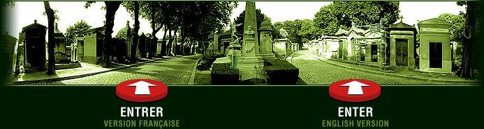 Cimetiere du Pere Lachaise | Visite virtuelle du Cimetiere | Cemetery's virtualtour  (For Paris theme - Fr 1200 Unité 1)