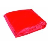 BIG 001450 - Happy Sandy Cover, rot, 165 x165 cm, Sandkasten-Abdeckplane