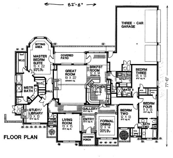 17 best images about floorplans on pinterest craftsman for Tudor mansion floor plans