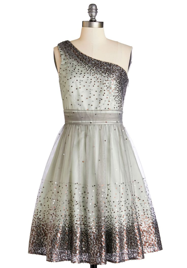 I want this for the Christmas party!!! . But it's too expensive .  Starlight Hearted Dress in Mint, #ModCloth