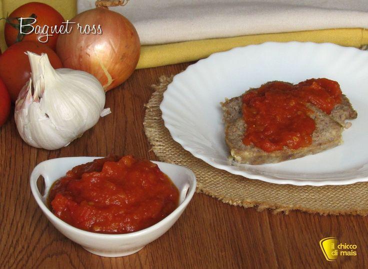 salse per tutti gli usi Bagnet ross salsa per bollito al pomodoro ricetta piemontese il chicco di mais