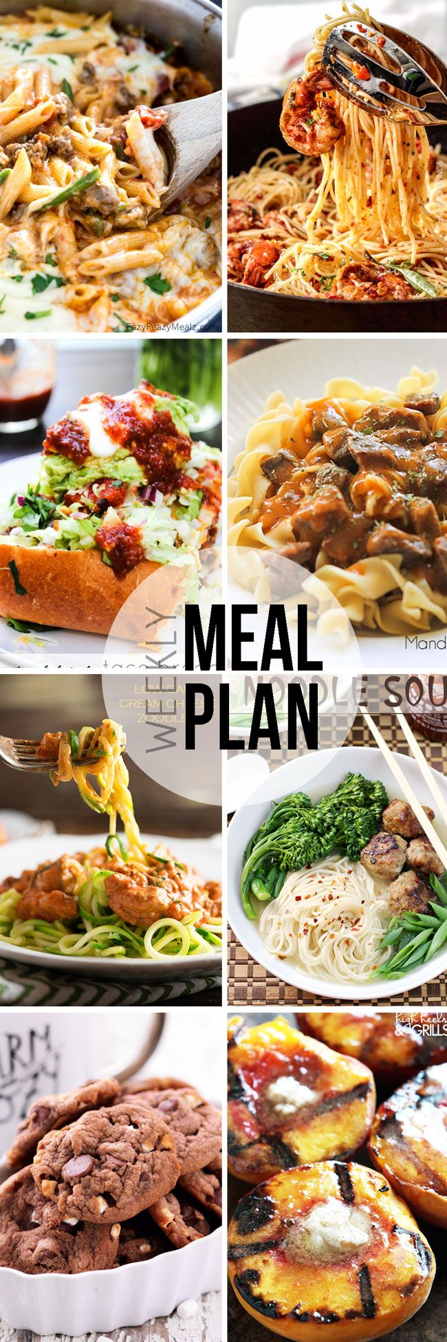 Easy Meal Plan #33 - This is such a great meal plan to follow! Lots of easy dinner recipe ideas.