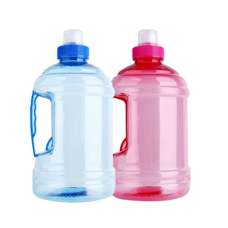 New 1L/2L Big Large Sport Gym Training Party Drink Water Bottle Cap Kettle Sports Water Bottle