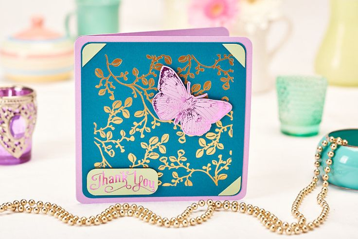 This gorgeous card was made using the TODO machine from Create and Craft…