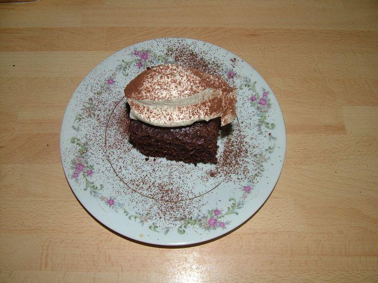 Kókuszos - colás brownie