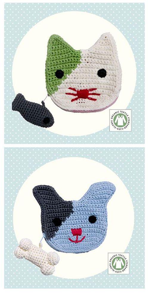 Crocheted purse - FRANCK & FISCHER idea #kids
