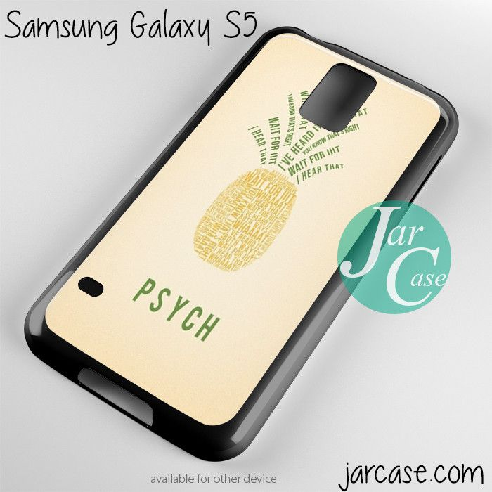 Psych Pineapple Phone case for samsung galaxy S3/S4/S5 OH MAH GOODNESS YES!!!