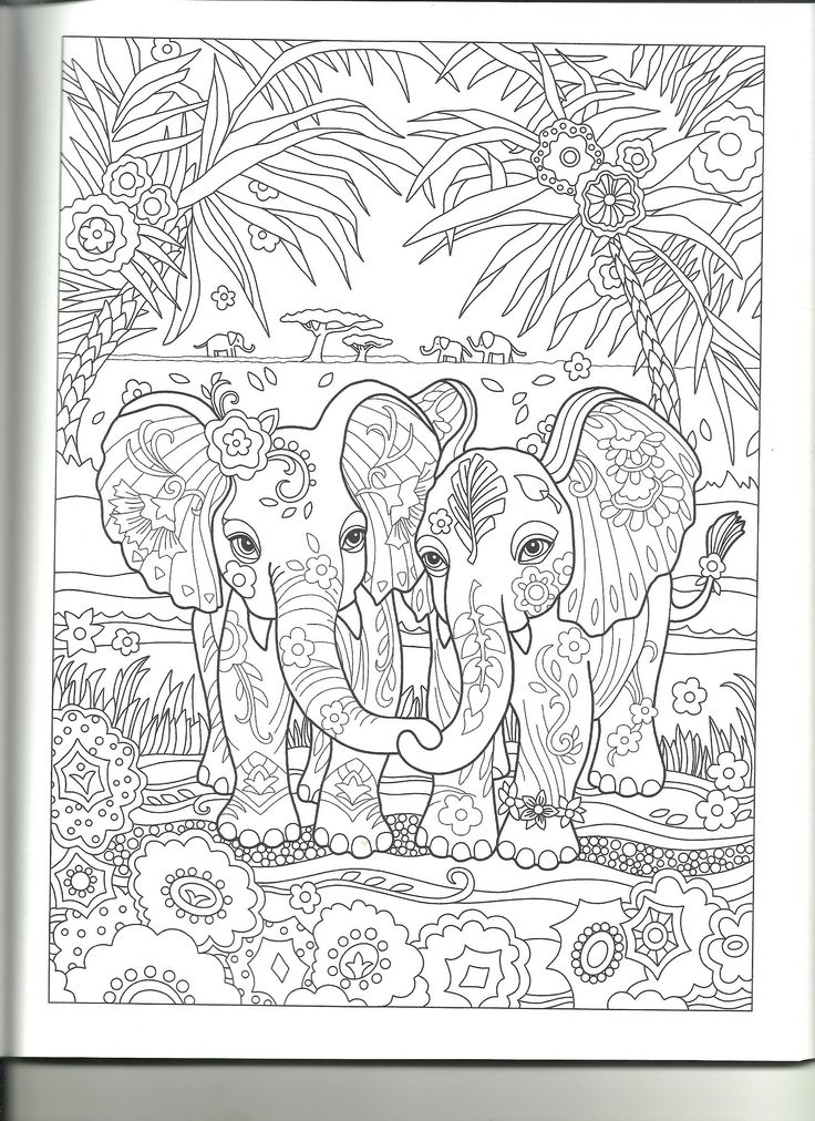 Pin by Laura Miller on Coloring Pages Elephant coloring