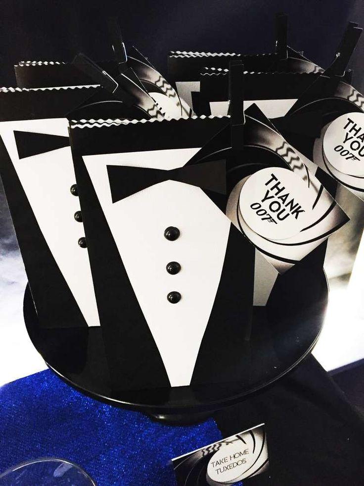 James Bond 007 Birthday Party Ideas Photo 4 Of 30 50th