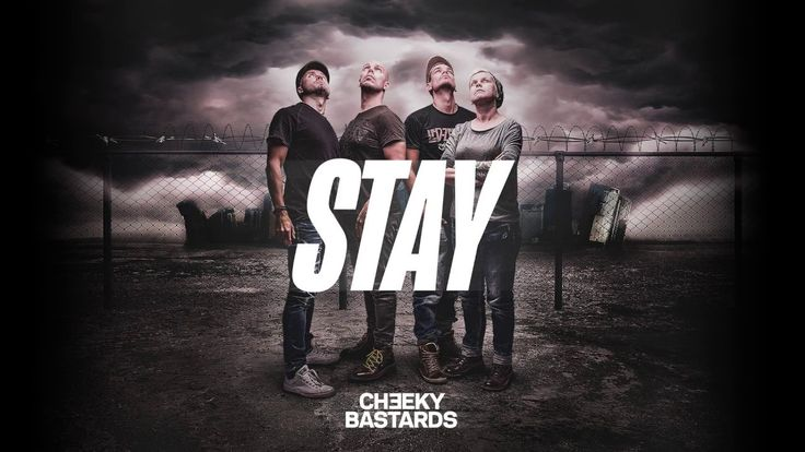 Therwiz Design - Cheeky Bastards STAY, how to create a single cover
