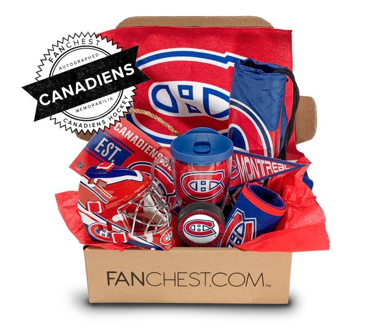 9 best montreal canadiens gift ideas images on pinterest gift montreal canadiens memorabilia gift box signed puck included fanchest negle Image collections