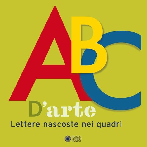 Dove si nasconde la lettera F nel quadro di Mondrian? E la lettera O nel quadro di Matisse?   Un divertente nascondino con le lettere dell'alfabeto da trovare all'interno di 26 opere d'arte.