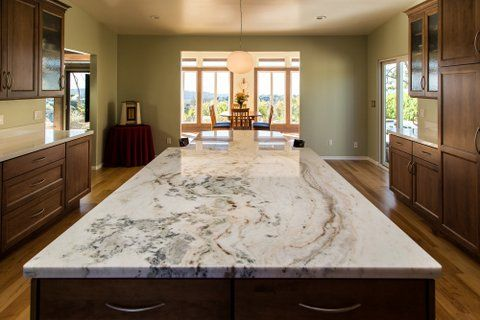 Kitchens With Granite Islands