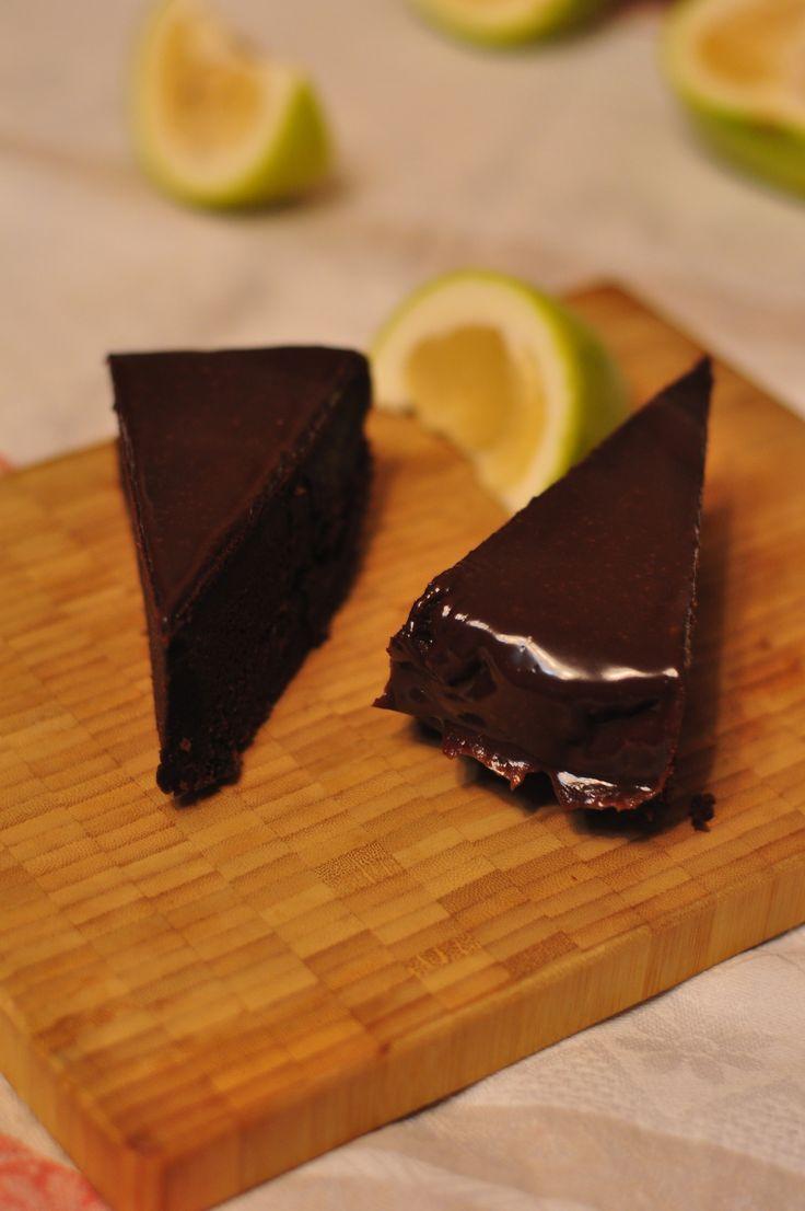 Шоколадный торт «Брауни» на темном пиве рецепт с фото