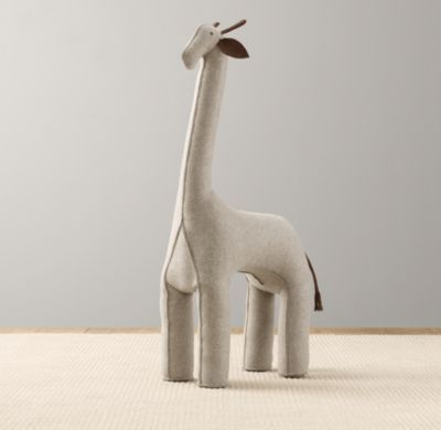 Oversized Wool Felt Giraffe | Accessories | Restoration Hardware Baby & Child