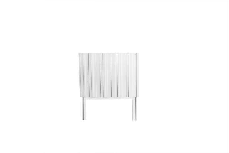 White small bedroom table designed by Björn Welander for @WELANDER DESIGN