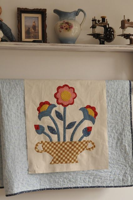 Folk Art Quilt Ideas : 1000+ images about Basket and Urn Style Quilts on Pinterest Folk art, Quilt designs and Quilt ...