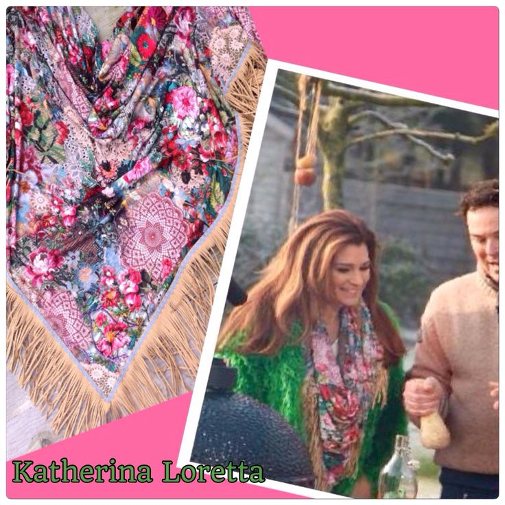Beautifull Quinty Trustfull#koffietijd#scarf flower/lace