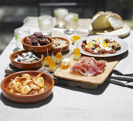 Ok not sure if this is considered very healthy,but my favorite dishes by far..Love love love Tapas