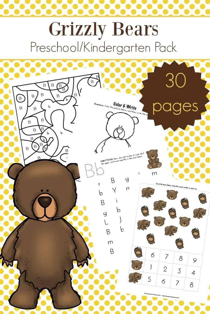B Is For Bears Preschool Learning Pack Bears Preschool Preschool Craft Activities Preschool Learning [ 1100 x 735 Pixel ]
