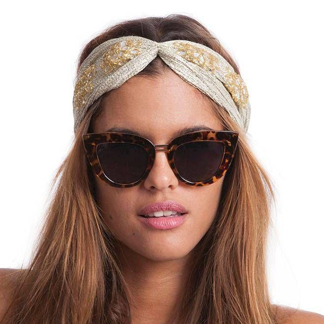 Hipanema Bella Headband Hipanema - Gold