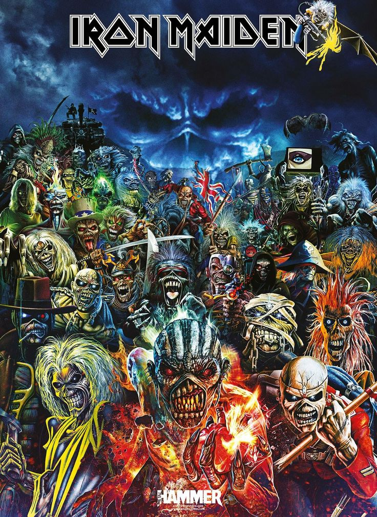 Eddies!!! Up the Irons!!! Metal BandsIron Maiden ...
