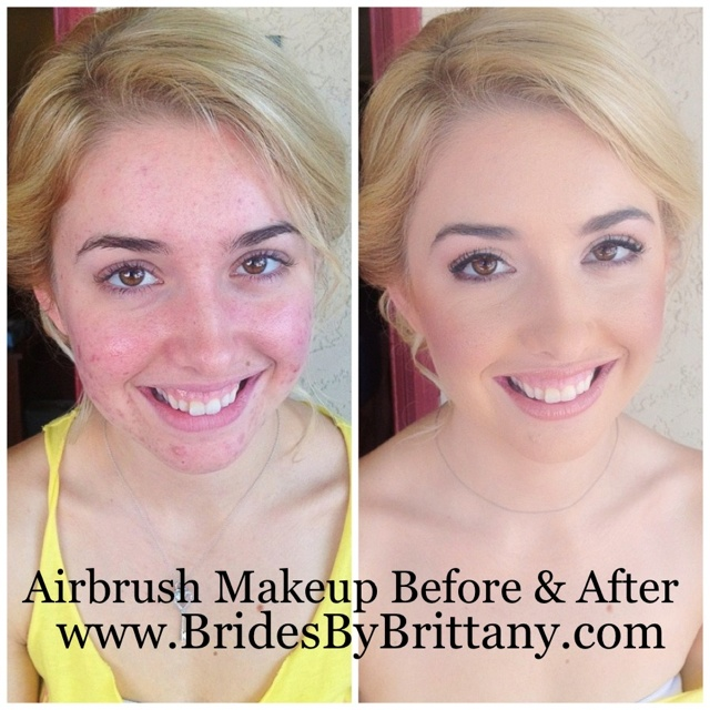 Airbrush Bridal Makeup Before And After : 17 Best images about Airbrush makeup on Pinterest ...
