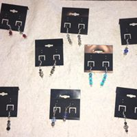 Hand Crafted Earrings $7 a set