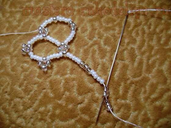 Мастер-класс по бисероплетению: Косынка из бисера. Техника плетения