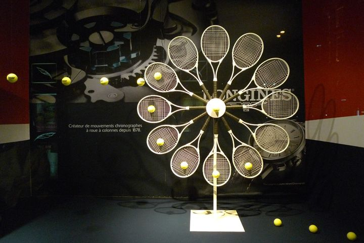 Tennis at Galeries Lafayette