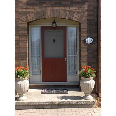 Diy laurentian wood screen door 32 inch x 80 inch for Home depot exterior screen doors