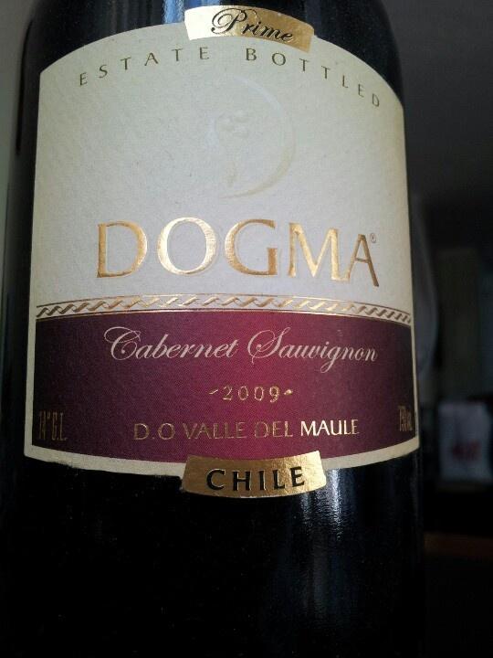 Dogma Cabernet Sauvignon 2009 Maule Valley Chile