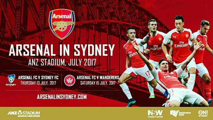 Arsenal FC Tour Pre-Season Fixtures