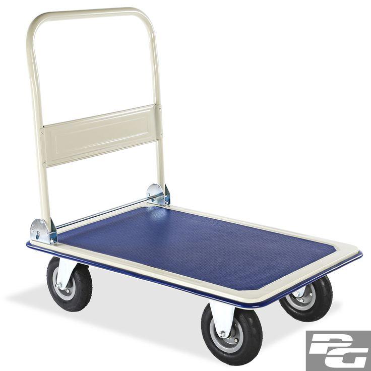 INXX-Plattformwagen-Handwagen-Transportwagen-klappbar-Klappwagen-Rollwagen