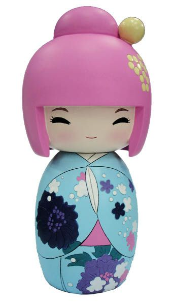 Cute kokeshi in my favourite colour scheme