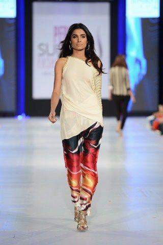 Maheen Karim Summer Collection At PFDC Sunsilk Fashion Week 2013